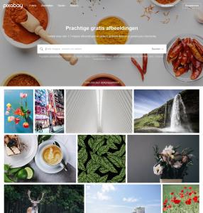 Pixabay website gratis rechtenvrije afbeeldingen