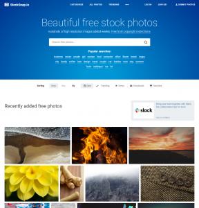 StockSnap website gratis rechtenvrije afbeeldingen